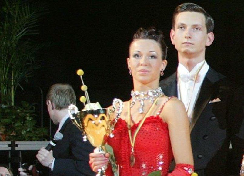 Veronika Golodneva ir Eimantas Kalinauskas