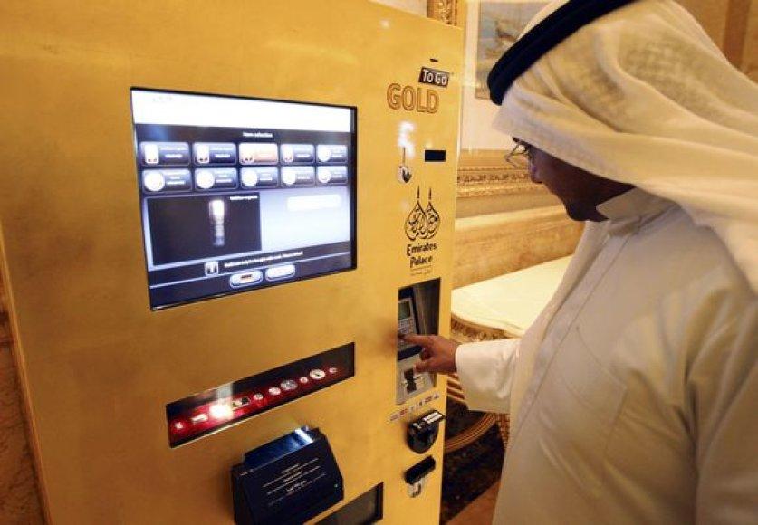 Aukso pardavimo automatas