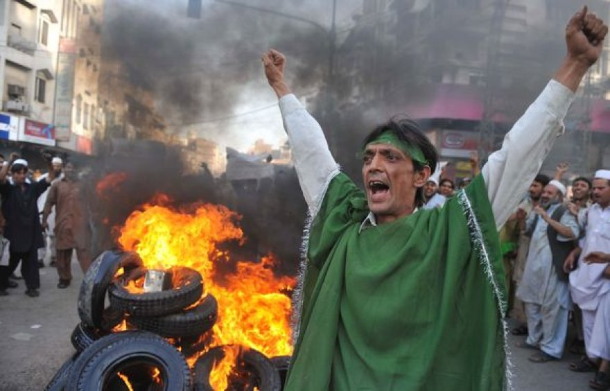 """Protestuotojai Izraelį kaltina """"valstybiniu terorizmu"""""""