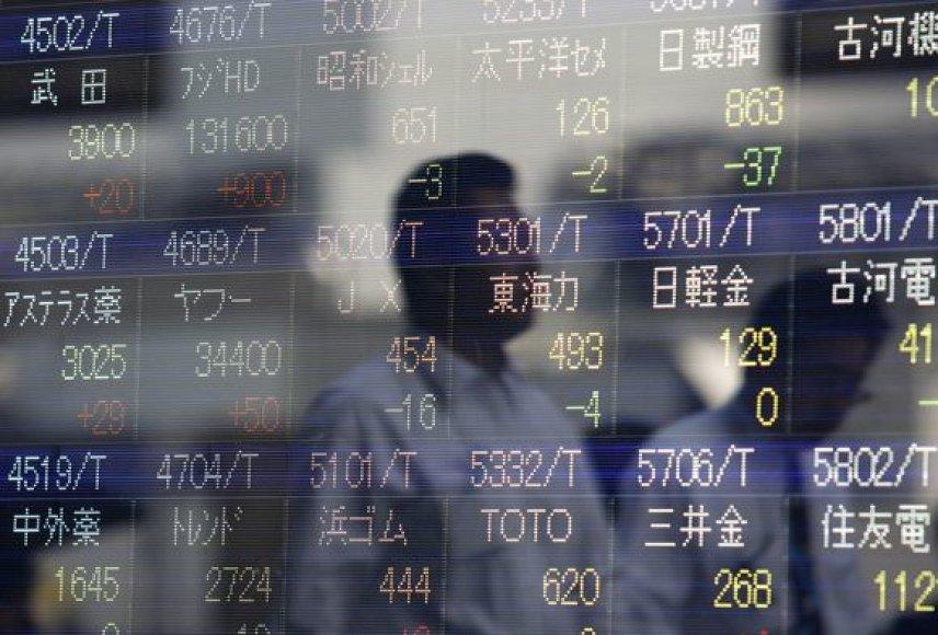Japonijos ekonomika sparčiai atsigauna