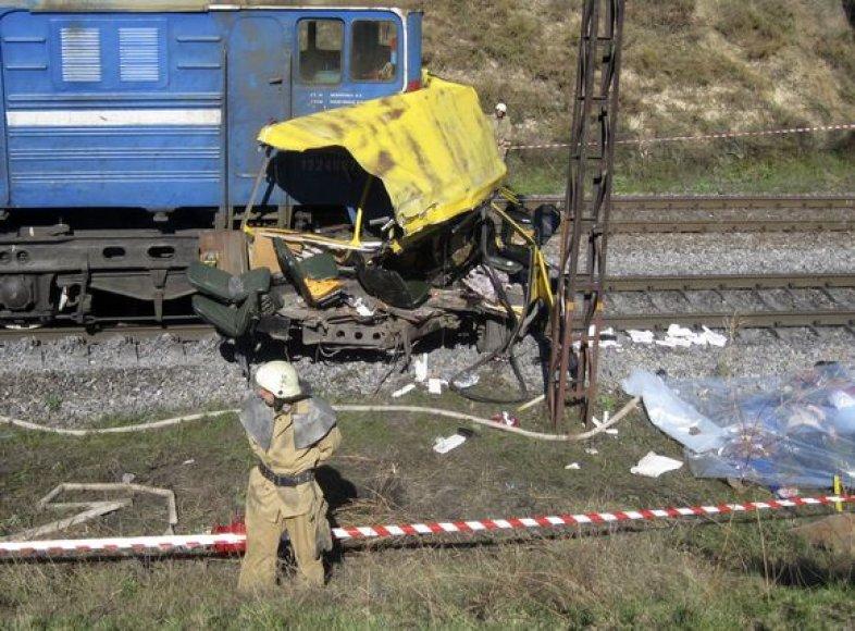 Baisi avarija Ukrainoje