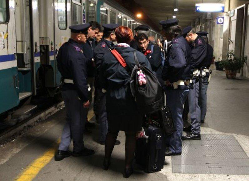 Imigrantai iš Tuniso neįleisti į Prancūziją