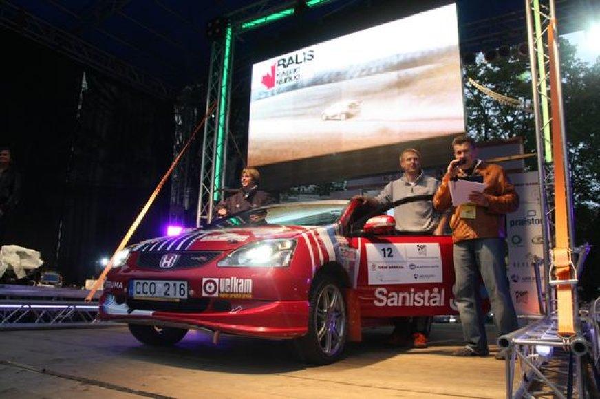 """""""Kauno rudens"""" ralis kitąmet gali tapti ir Estijos bei Latvijos automobilių ralio etapu"""