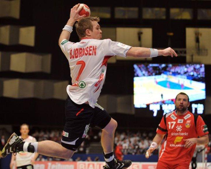 2010 metų Europos vyrų rankinio čempionate Austrijoje norvegai liko septinti