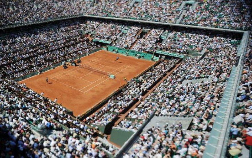 """""""Roland Garros"""" teniso aikštynui Paryžiuje nepavyksta išsiplėsti"""