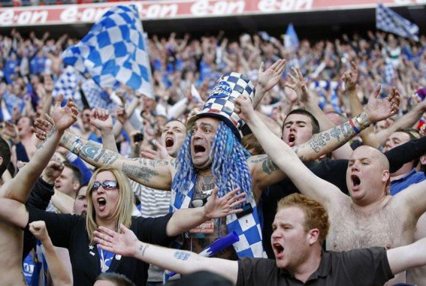 """Portsmouth"" futbolo klubo sirgaliai sprogo iš džiaugsmo"