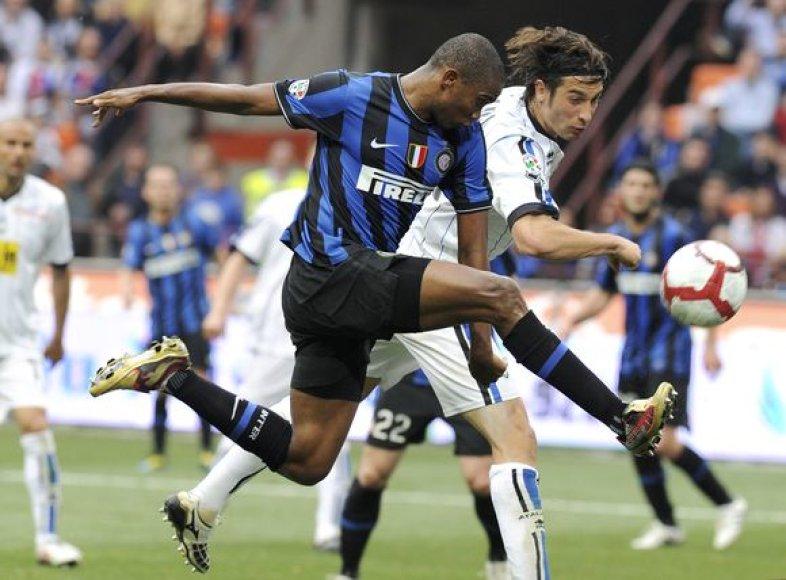 """""""Inter"""" sugebėjo laimėti rungtynes nepaisant to, jog pirmieji į priekį išsiveržė varžovai"""