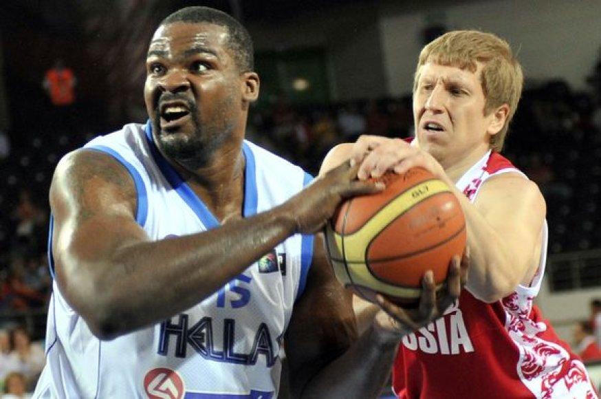 Graikai pasaulio krepšinio čempionate suklupo antrąkart