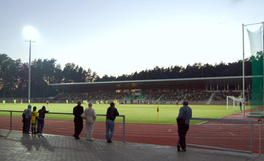 Viena iš potencialių būsimo čempionato varžybų vietų - naujasis Alytaus stadionas