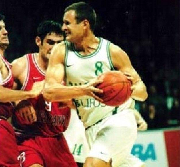 Jiri Zidekas Kaune žaidė 1998-1999 metais