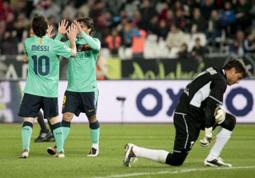 """Barcelona"" šventė įspūdingą pergalę"