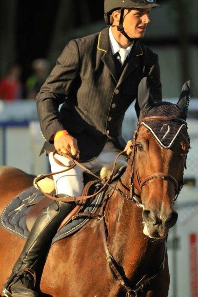 Raitelis Benas Gutkauskas Slovėnijoje iškovojo svarbių reitingo taškų