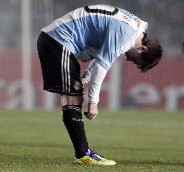 Lionelis Messi neranda savo žaidimo