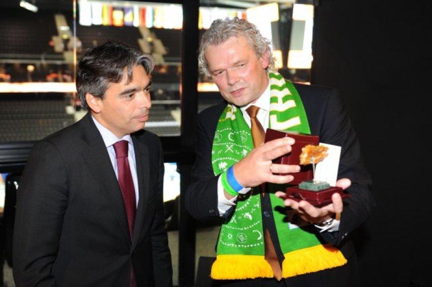 Albertas Soleras ir Klemensas Rimšelis