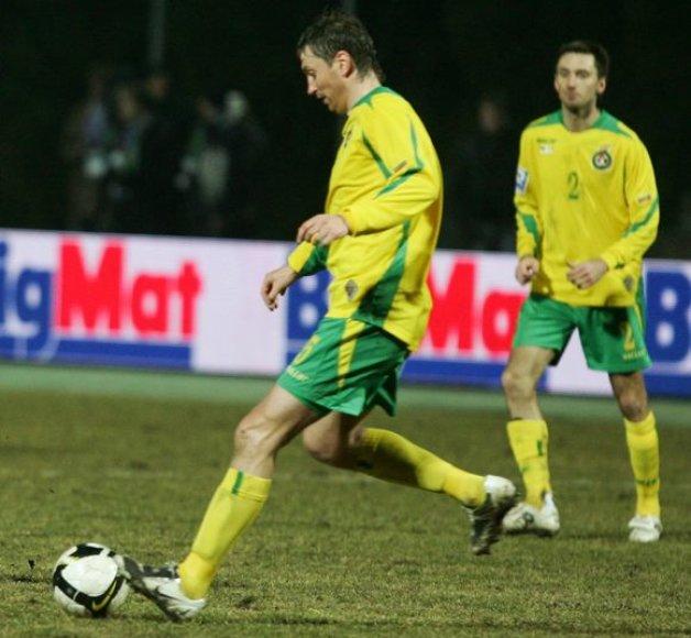 32 metų A.Skerla yra daugiausiai rungtynių Lietuvos futbolo rinktinės sudėtyje sužaidęs futbolininkas per visą mūsų šalies istoriją
