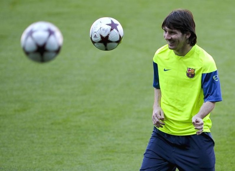 "J.Mourinho neslėpė, jog stabdant L.Messi ""Inter"" prireiks ir sėkmės"