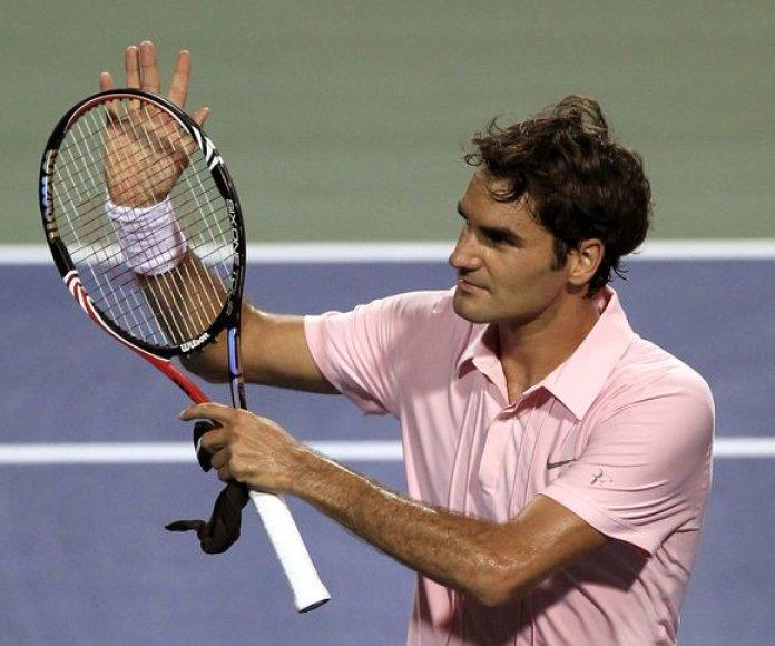 R.Federeris – Stokholmo teniso turnyro finale