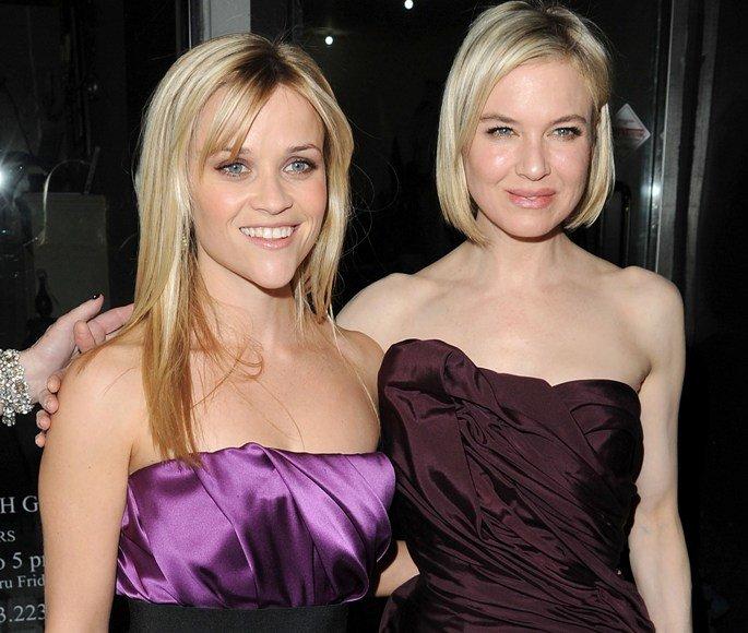 Reese Witherspoon ir Renee Zellweger