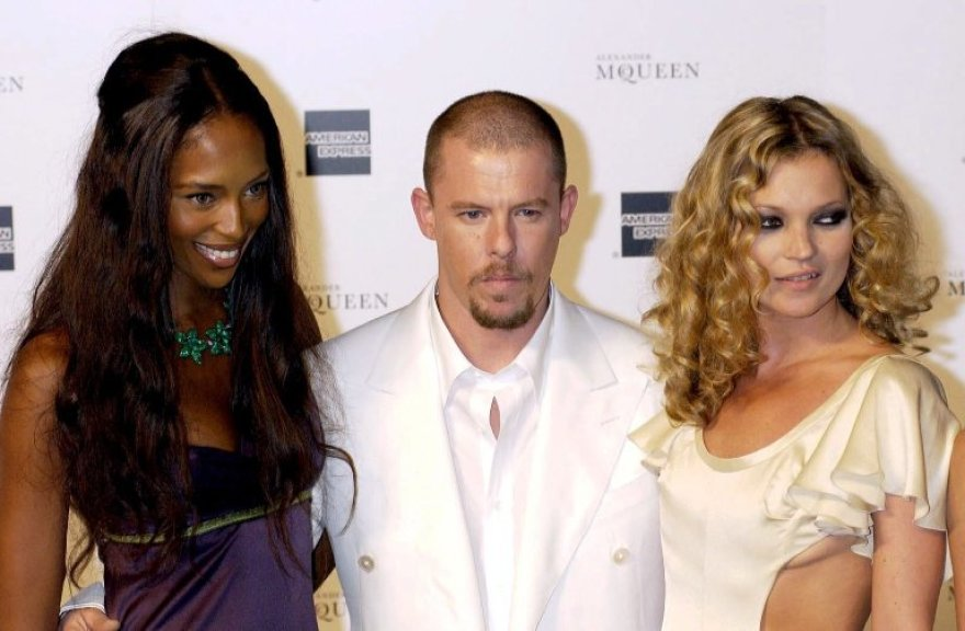 Naomi Campbell, Alexanderis McQueenas ir Kate Moss