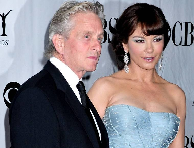 Catherine Zeta-Jones ir Michaelas Douglasas