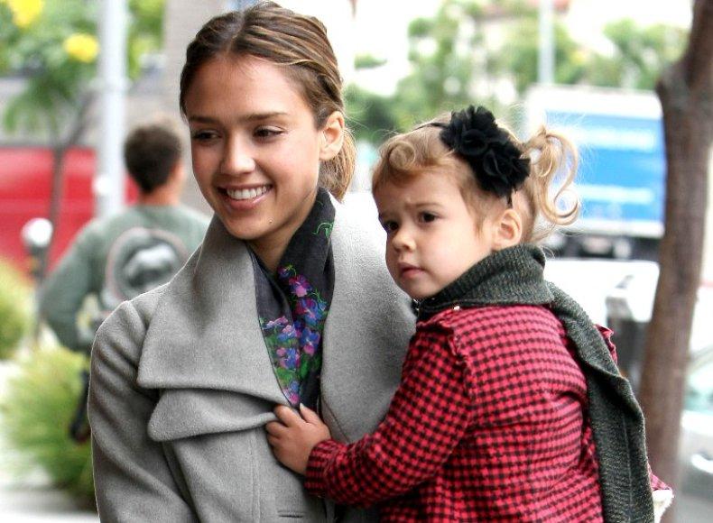 Jessica Alba su dukra Honor