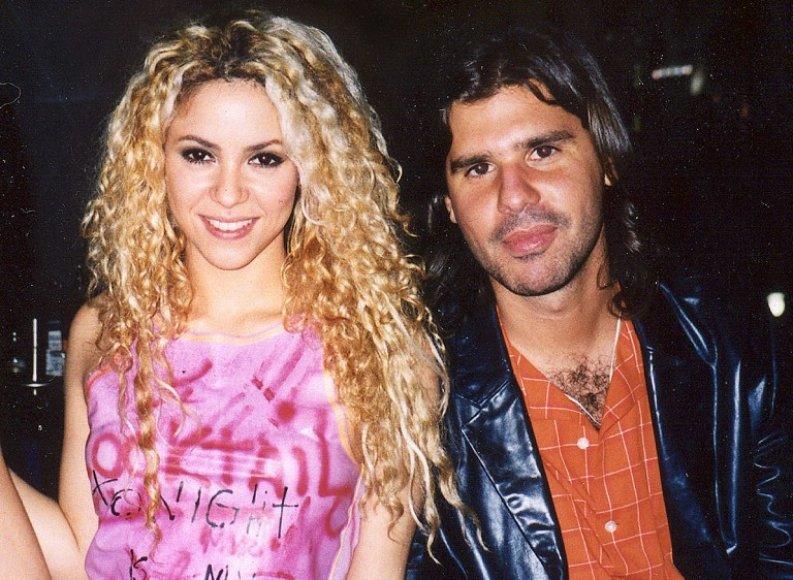 Shakira ir Antonio de la Rua