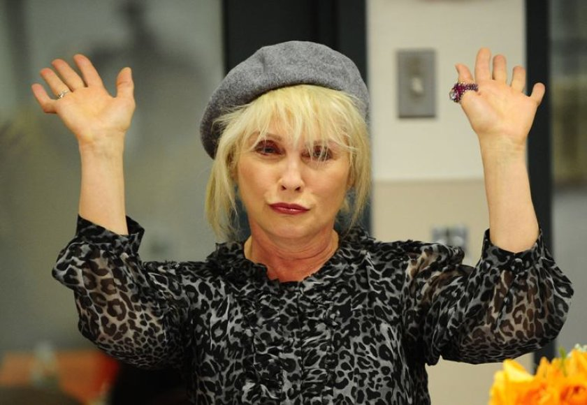 """Debbie Harry iš grupės """"Blondie"""""""