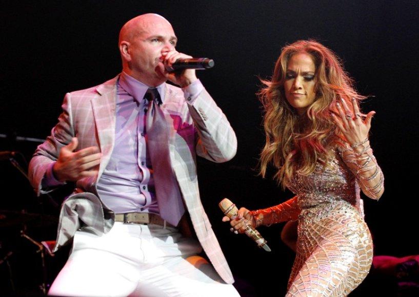 Pitbull ir Jennifer Lopez
