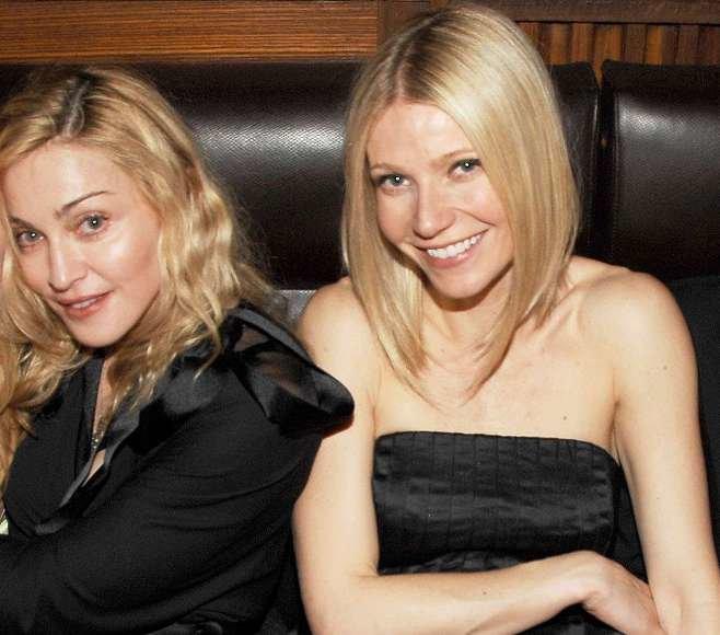 Madonna ir Gwyneth Paltrow