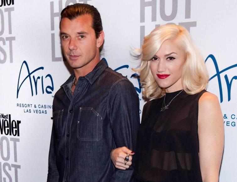 Gavinas Rossdale'as ir Gwen Stefani