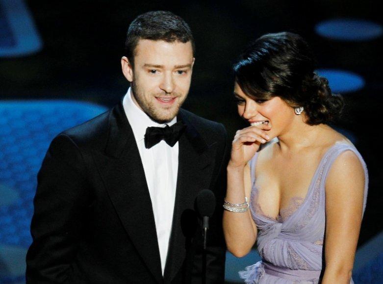 Justinas Timberlake'as ir Mila Kunis