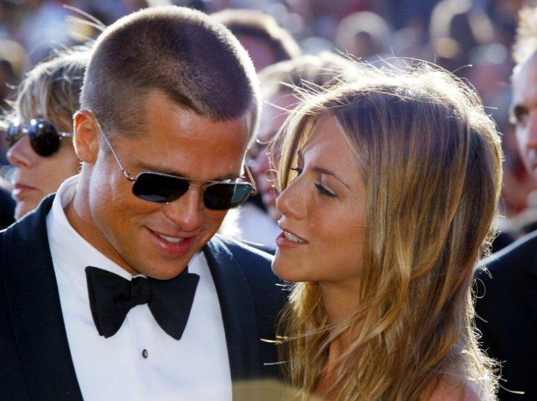 Bradas Pittas ir Jennifer Aniston