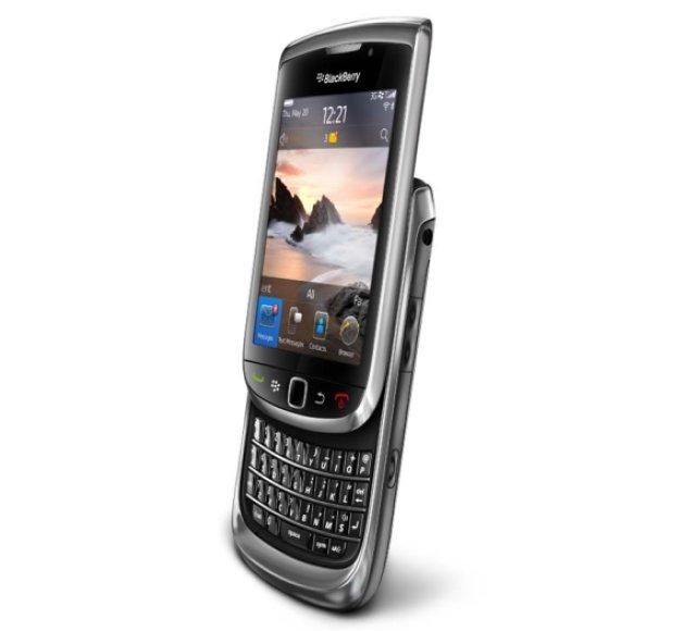 "Išmanusis telefonas ""BlackBerry Torch""."