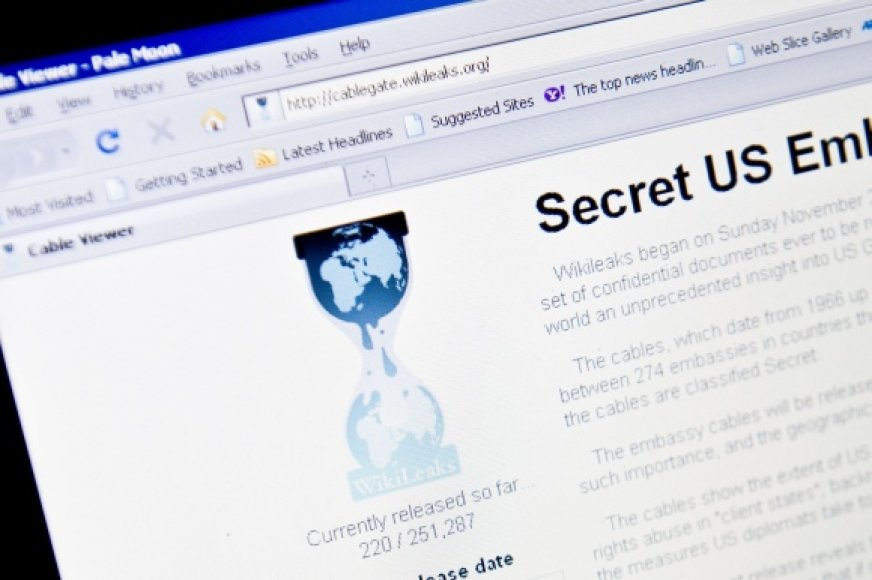 Svetainė Wikileaks.org