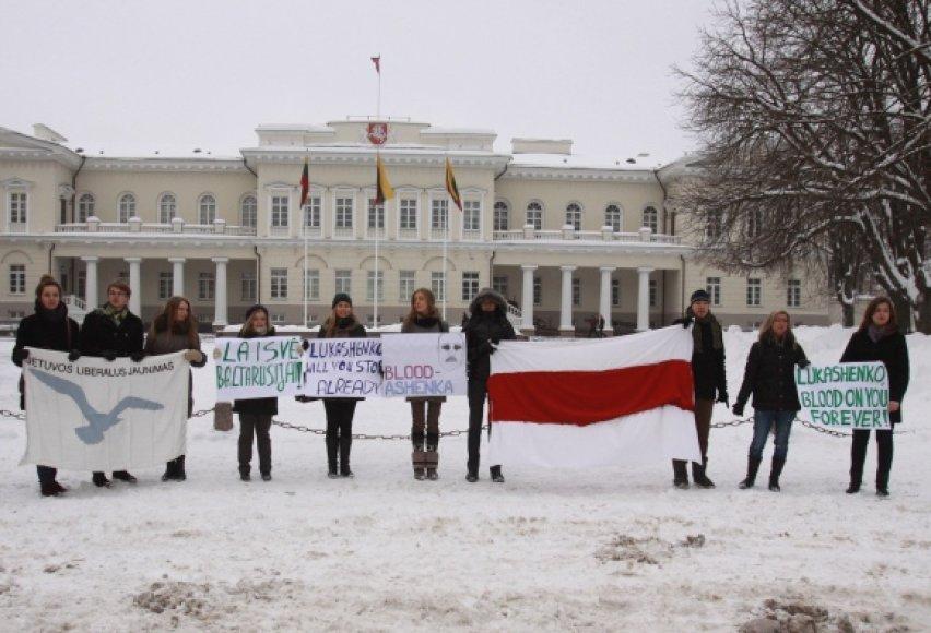Akcijos dalyviai siekė parodyti solidarumą Baltarusijos žmonėms, patiriantiems represijas, bei siekė atkreipti visuomenės ir valstybės pareigūnų dėmesį.
