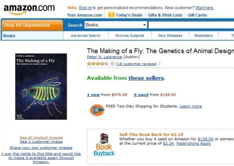 Šiuo metu knygos kaina ženkliai nukritusi.