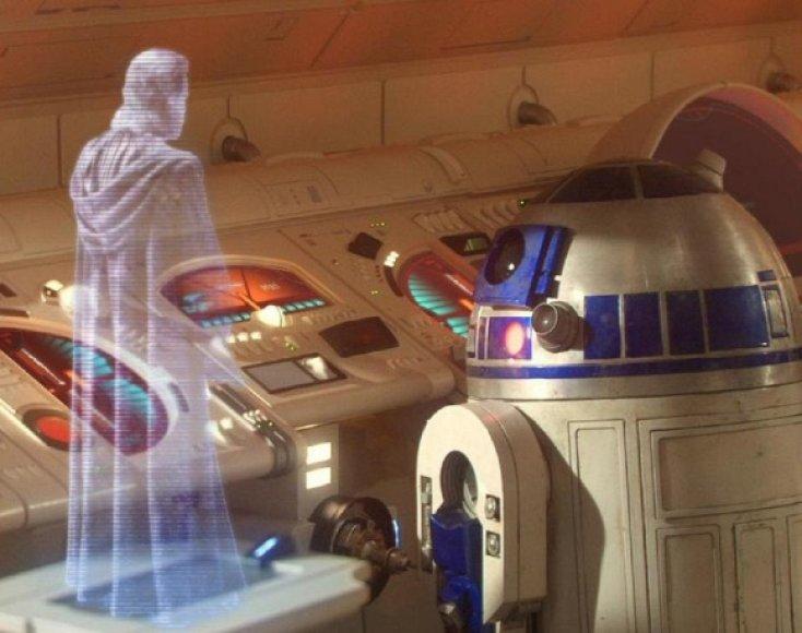 Trimatis holografinis pokalbis