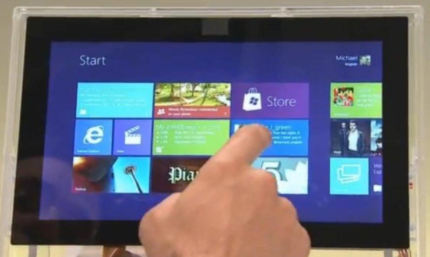 """Planšetinis kompiuteris su """"Windows 8"""" operacine sistema"""