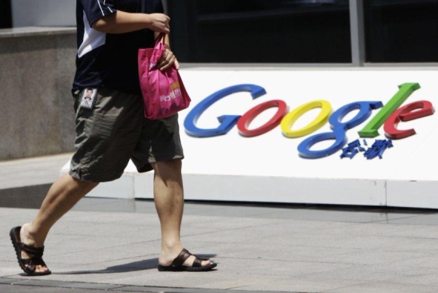"""""""Google"""" atstovybė Pekine"""