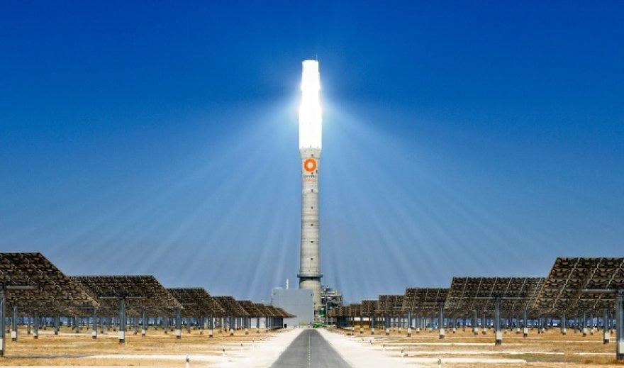 """""""Gemasolar"""" saulės jėgainė"""