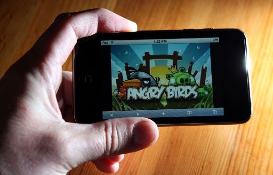 """Žaidimas """"Angry Birds"""""""