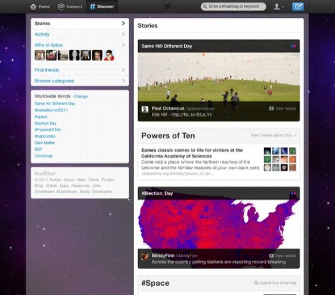 """Naujasis """"Twitter"""" dizainas"""