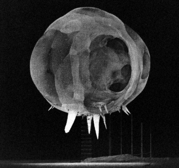 """Operacijos """"Tumbler-Snapper"""" metu 1952-aisiais susprogdinta 1 kilotonos atominė bomba."""