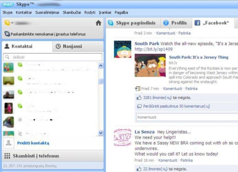 """Skype 5.0""."