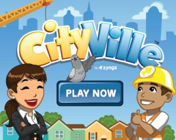 """Žaidimo """"CityVille"""" logotipas."""