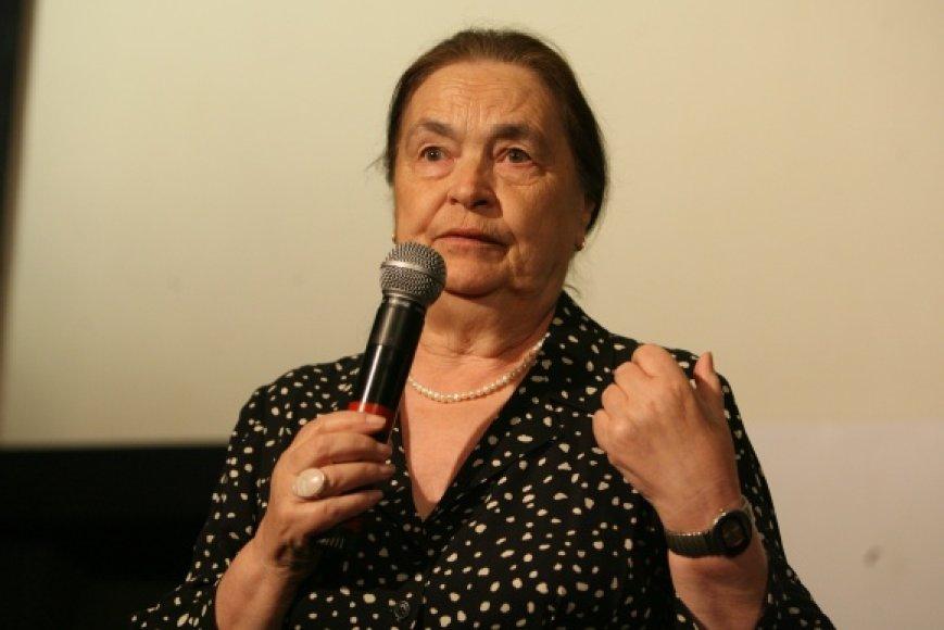 Lietuvoje vieši Tarkovskių šeimos atstovė - Marina Tarkovskaja