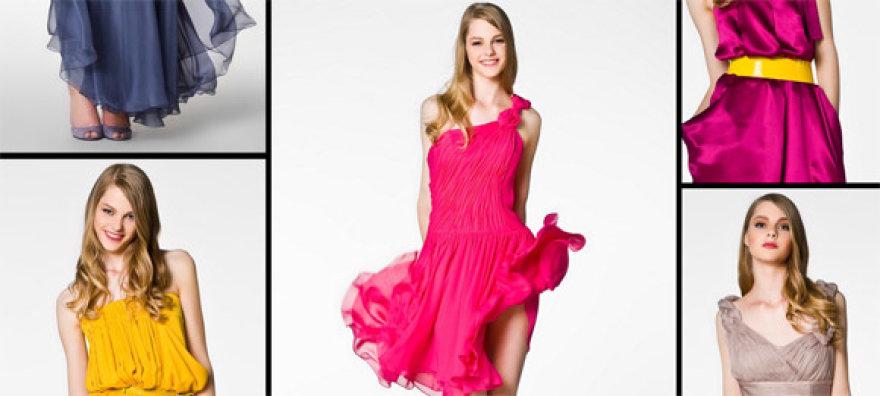 Ramunės Piekautaitės kolekcijoje – dvylika išleistuvėms skirtų suknelių ir ansamblių.