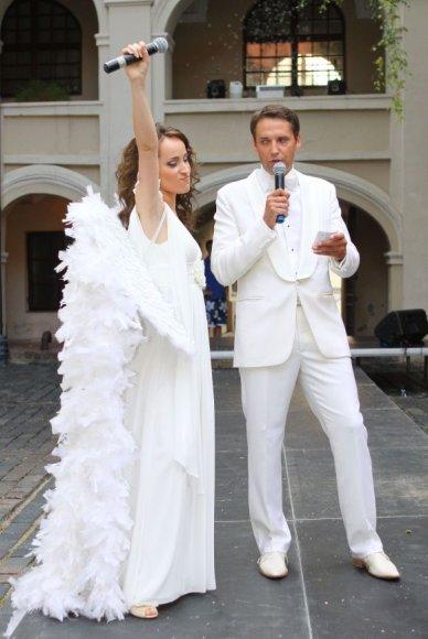 Rasa Velijevaitė ir Rolandas Vilkončius