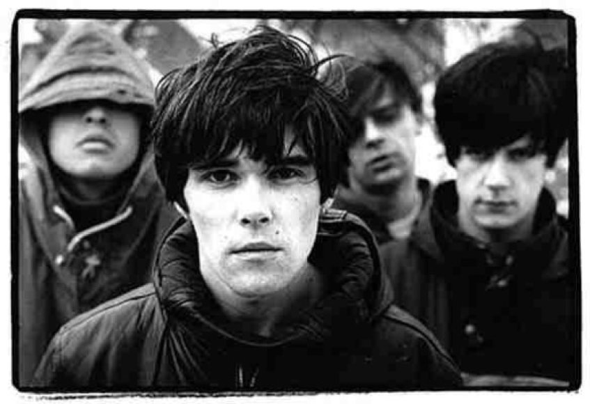 """Legendinė Mančesterio grupė """"The Stone Roses"""""""