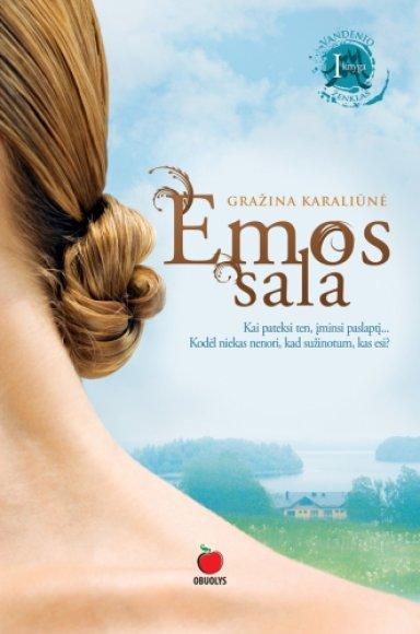 """Gražinos Karaliūnės mistinis romanas """"Emos sala"""""""